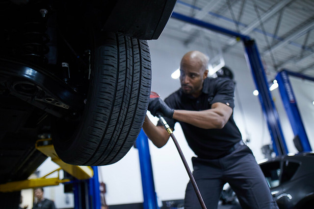 For DIY car service, make sure you know how to rotate tires properly